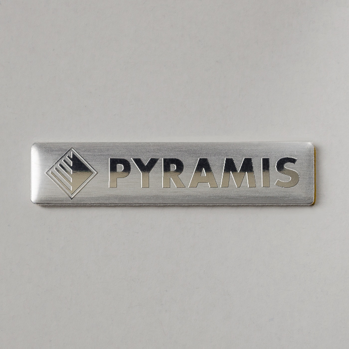 Metal Logo with Chemical Engraving or Printing