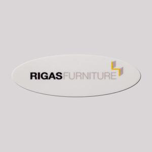 Surface Printed Logo